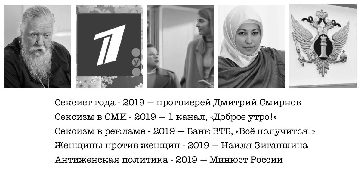 Победители премии «Сексист года — 2019»